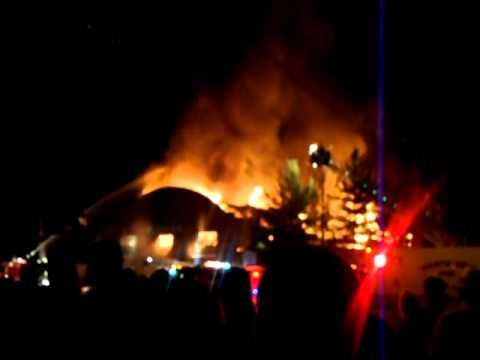 Coliseum fire 7/30/11 Benld, IL