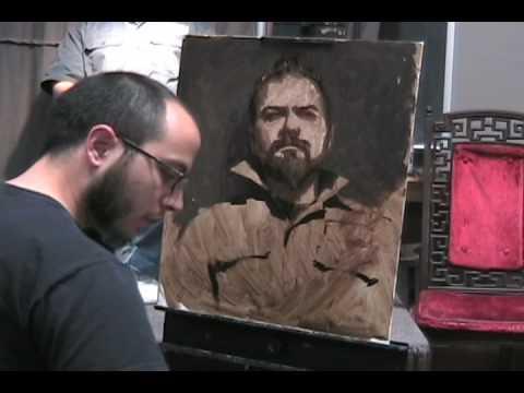 Painting Portrait - Alla Prima - Sean Cheetham