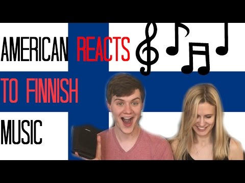 AMERICAN REACTS TO FINNISH MUSIC