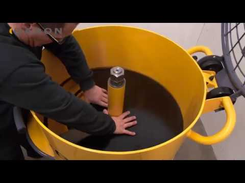 Baron Mixer - Easy Clean System
