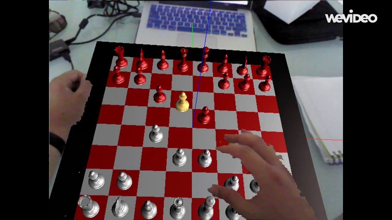 An Interactive Augmented Reality Chess Youtube