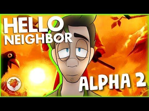 HELLO NEIGHBOR ALPHA 2 | THIS BASEMENT IS HUGE! | DAGames