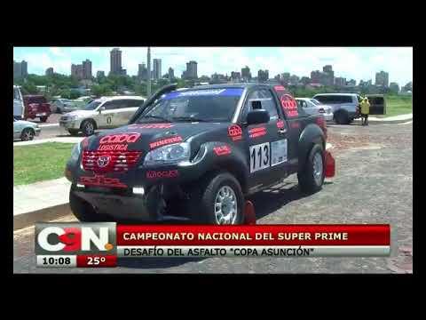 Costanera de Asunción se convirtió en circuito del Super Prime