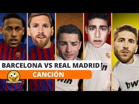 Barcelona vs Real Madrid Parody Song