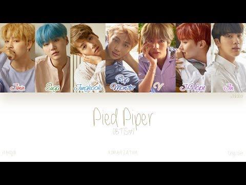 [HAN|ROM|ENG] BTS (방탄소년단) - Pied Piper (Color Coded Lyrics)