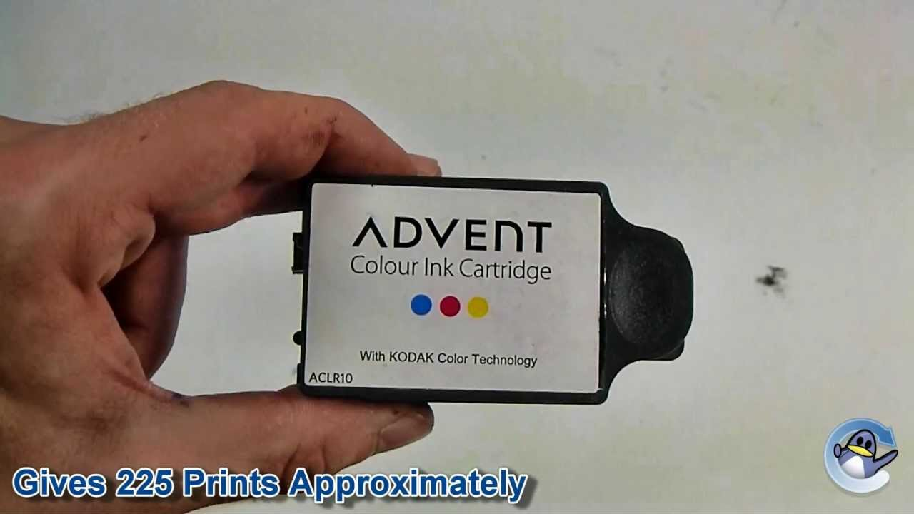 Inside Advent 10 ACLR10 Colour Ink Cartridge 900248