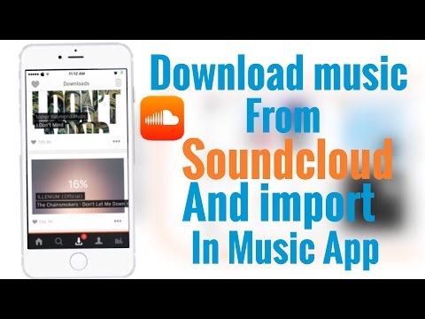 NEW How to download Soundcloud music and import to Music App on IOS 10 - 10.1.1 / 9 - 9.3.3