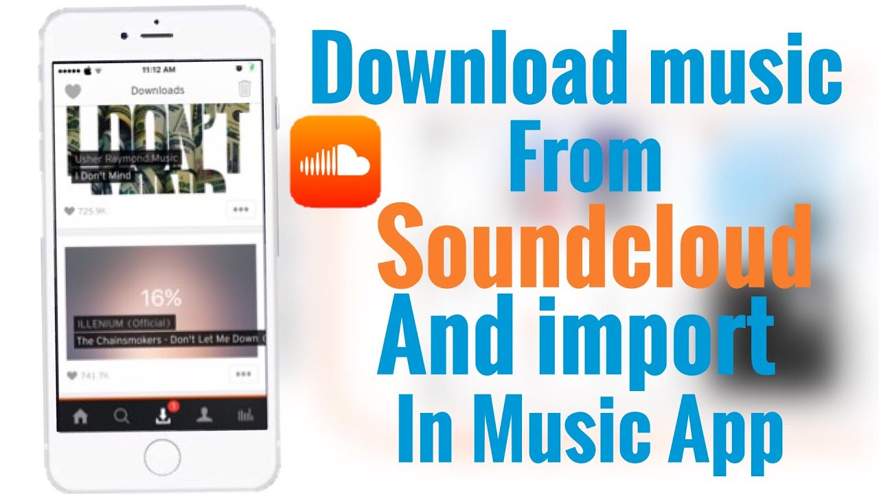 how to get music from soundcloud