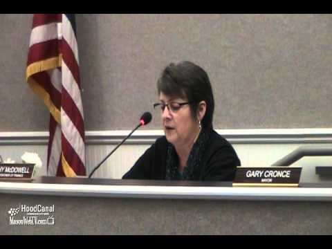 Kathy McDowell asks for City Administrator recruitment plan