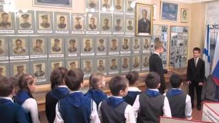 Музей школы 201 Фрунзенского района в канун 70 летия Победы