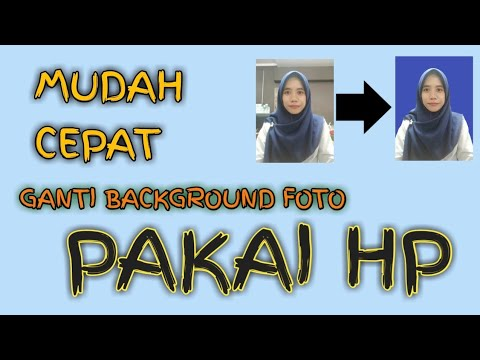 Cara Mengedit Background Foto - YouTube