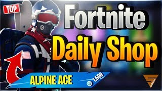 Fortnite Daily Shop *TOP* ALPINE ACE SKIN (18 Dezember 2018)