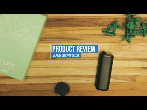 Vapium Lite Vaporizer [PRODUCT REVIEW]: Budget Portable Dry Herb Vape