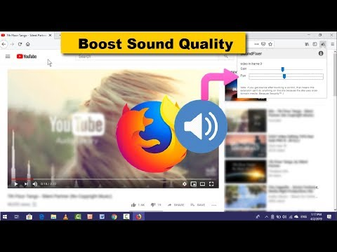 How To Solve & Boost Sound Issue In Firefox In Windows
