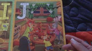 I got the new Disney book, H is for Halloween in the mail from Amazon today!