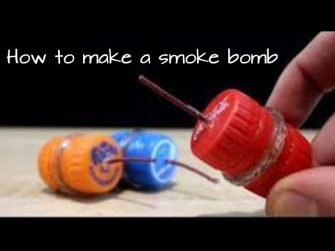 How To Make Simple Smoke Bomb At Home  Latest 2018
