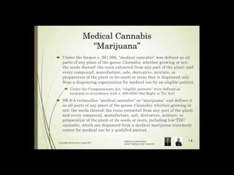 Lester Perling and Alan Gassman on Florida's Medical Marijuana Laws