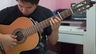Suddenly - Billy Ocean (solo guitar cover)