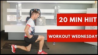 20 Minute Hiit Workout with Olympic diver Leon Taylor | Workout Wednesday