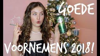 mijn goede voornemens voor 2018 joy beautynezz