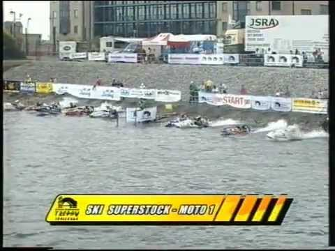 British Waterways Round 2 2002. Liverpool. JSRA Jetski Racing