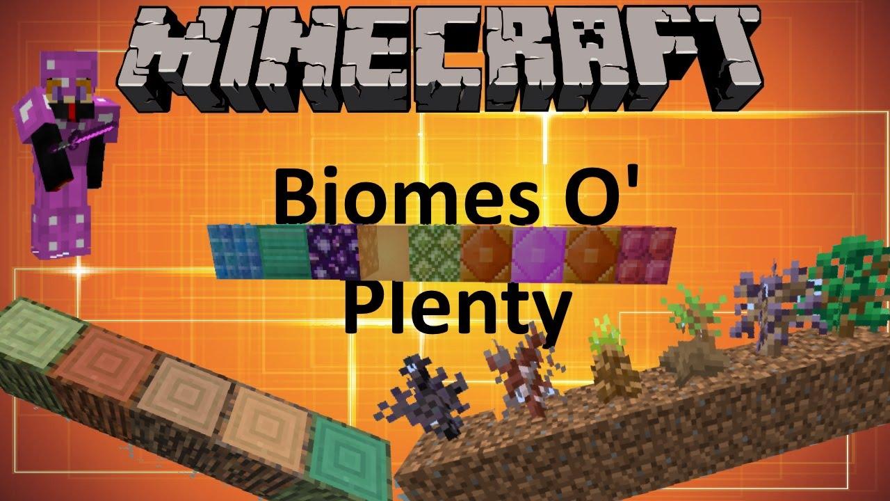 Minecraft: BIOMES O' PLENTY