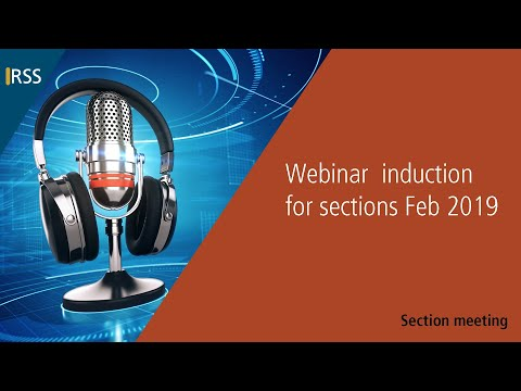 Webinar induction for sections Feb 2019