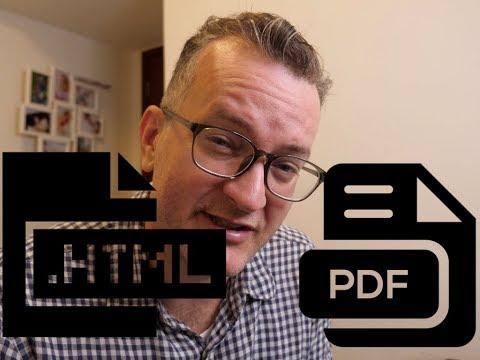 Screen HTML To Print PDF Aka Digitizing A Paper Based Process