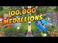 UNSTOPPABLE. OVER 100k Medallion Rush - Bloons TD Battles