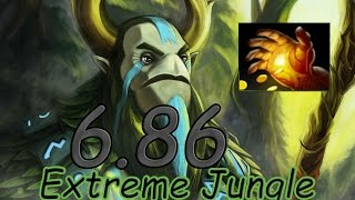 dota 2 6 86 jungle dire natures prophet midas 5 01