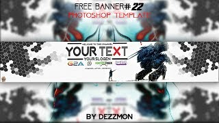 FREE BANNER TEMPLATE #22 Photoshop
