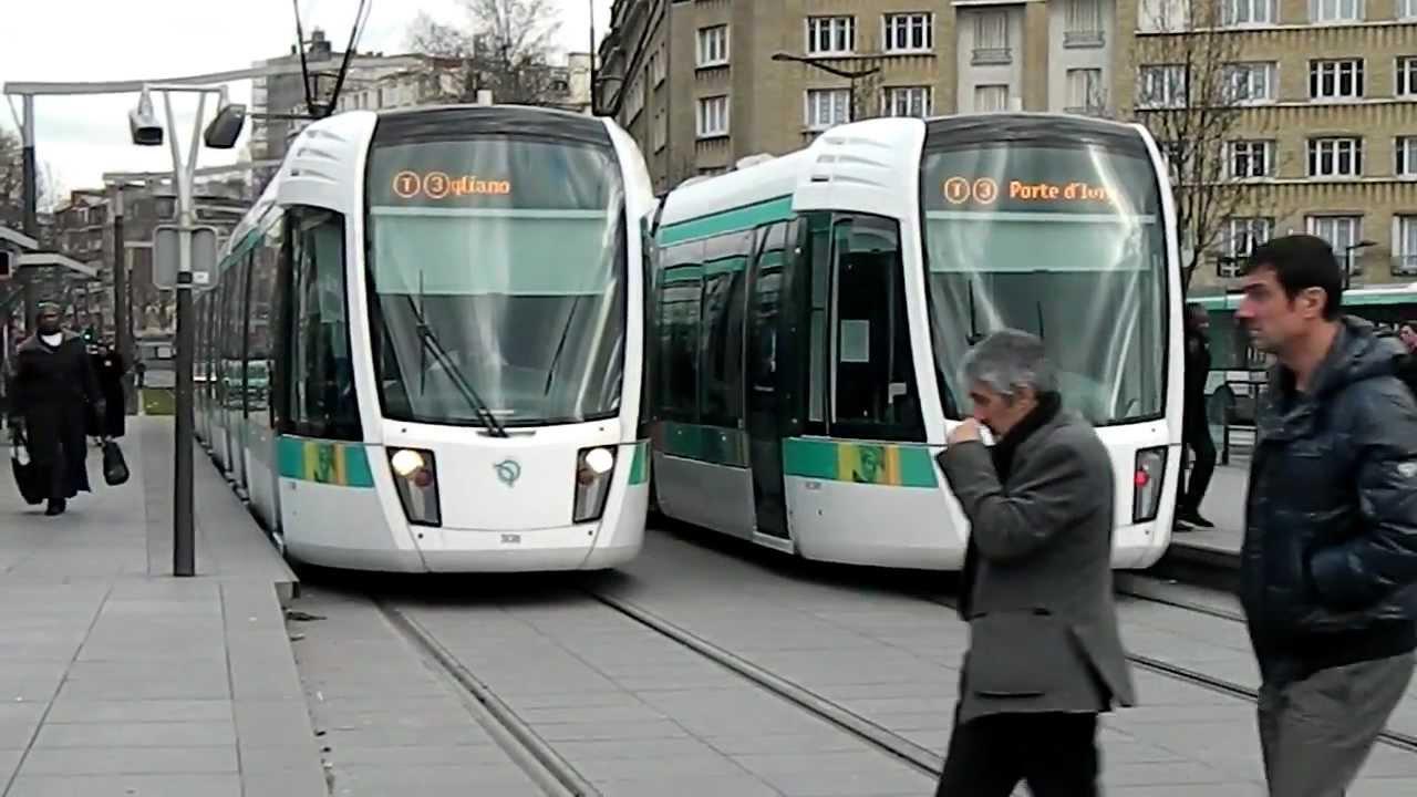 Tramway t3 porte d 39 italie 2 youtube - Station total porte d italie ...