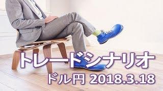 【FX:ドル円 2018.3.18】トレードシナリオ解説
