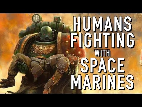 How Often Does a Human See A Spacemarine in Warhammer 40K