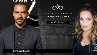 Jesse Williams is Inside Trending Topics With Angie Martinez
