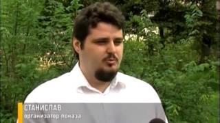 В Ярославле состоялся первый сеанс фильма для слепых