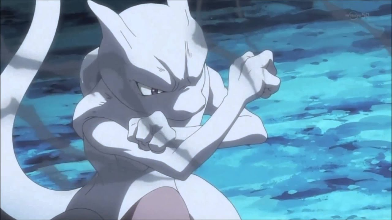 Mega Charizard X Vs Mewtwo Full Fight Hd Youtube