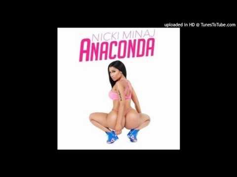 Nicki Minaj - Anaconda (Acapella Dirty) | 130 BPM