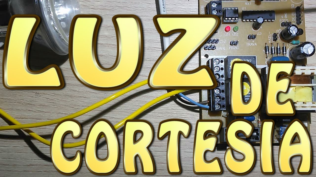 Instalar Luz De Cortesia No Port 227 O Autom 225 Tico Youtube