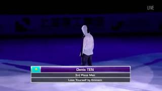 Denis Ten ДЕНИС ТЕН EX - Lose Yourself x Bass Head - ISU Shanghai Trophy 2017-