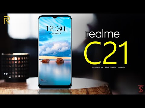 Realme C21 Price, Official Look, Camera, Design, Specifications, Features