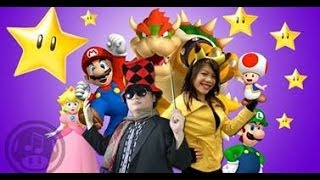 Mario Counting Stars OneRepublic parody ft. String Player Gamer