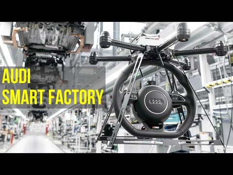 Audi Smart Factory - Future of Audi Production