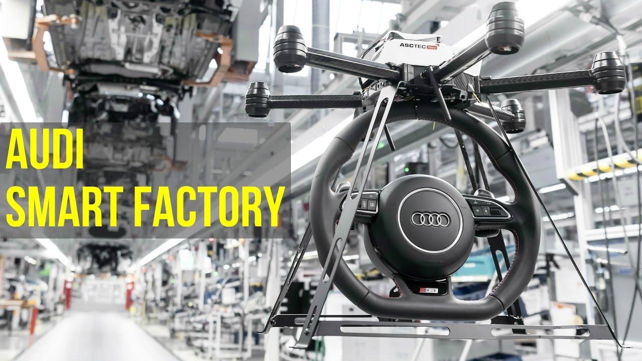 Audi Smart Factory   Future Of Audi Production   YouTube