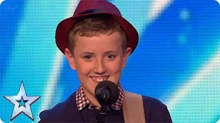 Henry Gallagher strikes us with Lightning! | Britain's Got Talent Unforgettable Auditions