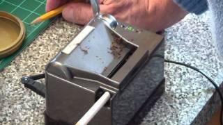 Repeat youtube video PowerMatic II Cigarette making machine