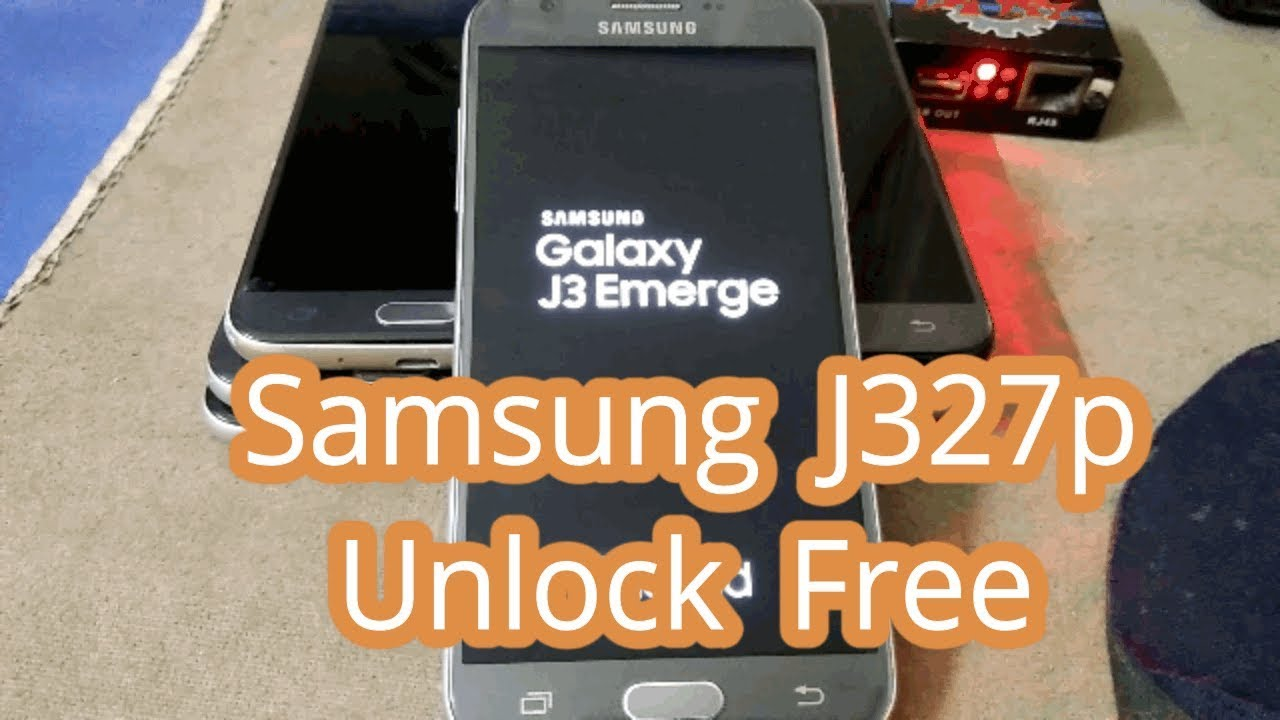 J327P SIM Unlock U4/BIT4/REV4 | J3 Sprint Invalid SIM card