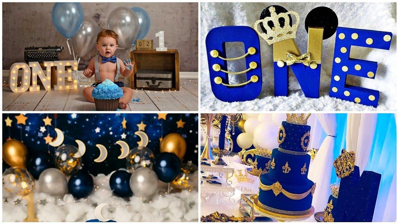 beautiful Baby Boy Birthday decoration ideas //birthday decoration ideas 2021