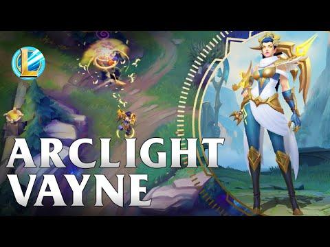 Arclight Vayne Skin Spotlight - WILD RIFT