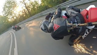 YAMAHA R6 chasing YAMAHA R1 || Best 3rd Person!
